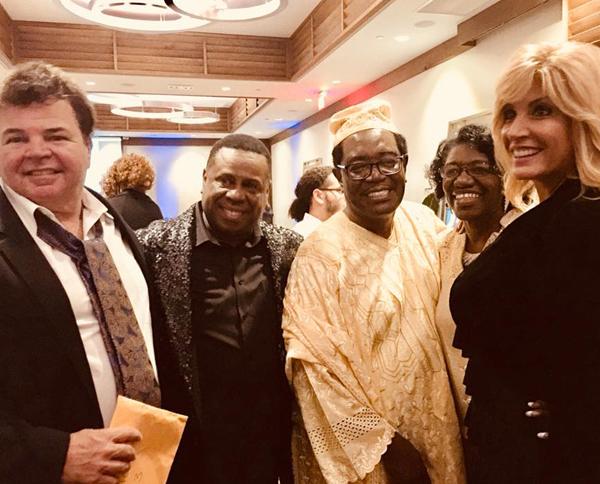 Dennis Jenkins, Nate Jacobs, Bishop Henry Porter, Elder Celestine Campbell And Pastor Dayna Muldoon